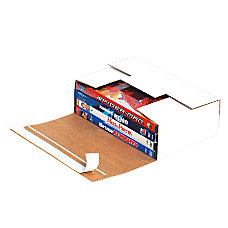 Office Depot Brand White Corrugated DVD