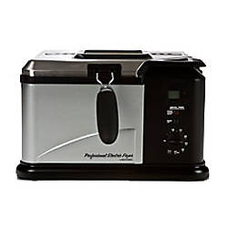 Masterbuilt 20010610 electric fish deep fryer by office for Fish fryer home depot