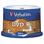Verbatim DVD R Recordable Media With