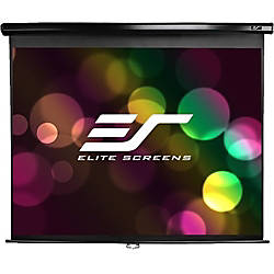 Elite Screens M84UWH Manual Pull Down