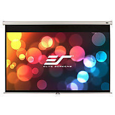 Elite Screens M113NWS1Manual Pull Down Projector