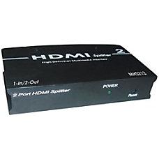 RF Link HDMI Splitter 1 In2