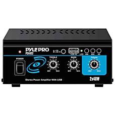 Pyle PCAU22 Amplifier 40 W RMS