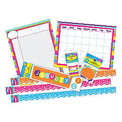 Barker Creek Classroom D cor Set