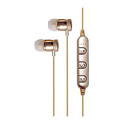 Billboard Bluetooth Earbud Headphones Gold BB960