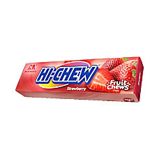 Hi Chew Strawberry Fruit Chews 176