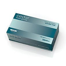 Cedar Powder Free Vinyl Synthetic Exam