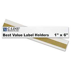 C Line Peel Stick ShelfBin Plastic