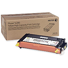 Xerox 106R01394 High Yield Yellow Toner