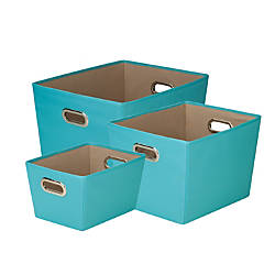 Honey Can Do Tote Kit Turquoise
