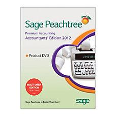 Sage Peachtree Premium Accountants Edition 2012
