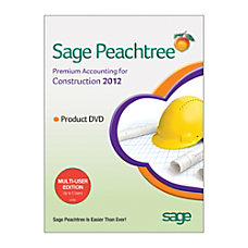 Sage Peachtree Premium Accounting for Construction