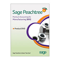 Sage Peachtree Premium Accounting For Manufacturing