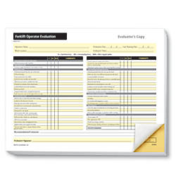ComplyRight Forklift Operator Evaluation Forms 8