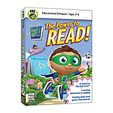 SUPER WHY The Power To Read