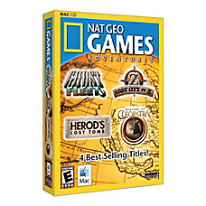 National Geographic Game Pack Adventures For