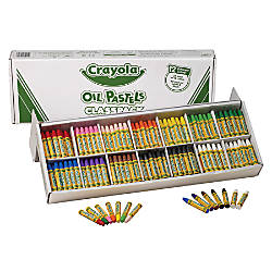 Crayola Oil Pastels Classpack Set Of