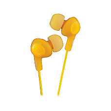 JVC Gummy Plus Earbud Headphones Orange