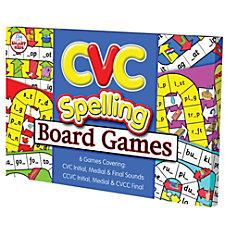 Didax CVC Spelling Board Games