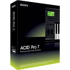 Sony Acid Pro 7 Traditional Disc