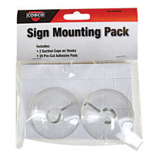 Cosco Sign Hanging Accessory Kit