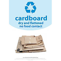 Recycle Across America Cardboard Standardized Recycling