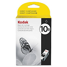 Kodak Black Ink Cartridge 10B