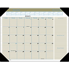 AT A GLANCE Executive Desk Pad