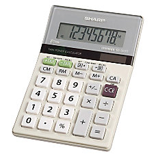 Sharp EL 330TB Semi Desktop Calculator
