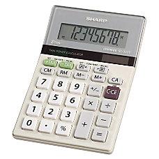 Sharp EL 330TB Semi Desktop Calculator
