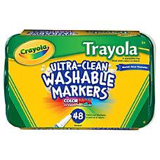Crayola Trayola Washable Markers Set Fine