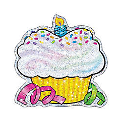 TREND Classic Accents Sparkle Birthday Cupcake