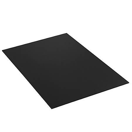 office depot brand plastic corrugated sheets 24 x 36 black pack of 10 by office depot officemax. Black Bedroom Furniture Sets. Home Design Ideas