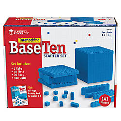 Learning Resources Interlocking Base 10 Starter