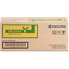 Kyocera TK 5142Y Original Toner Cartridge