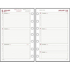 Day Runner Express Planning Pages 5