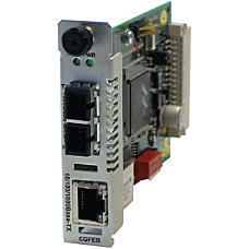Transition Networks 101001000 Ethernet Media Converter