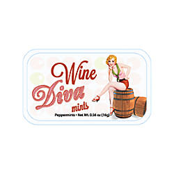 AmuseMints Sugar Free Mints Wine Diva