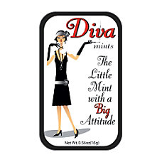 AmuseMints Sugar Free Mints Diva Attitude