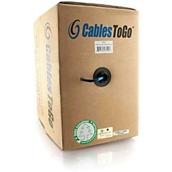 c2g 1000ft cat5e bulk unshielded utp network cable with