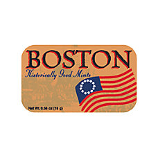 AmuseMints Destination Mint Candy Boston Historically