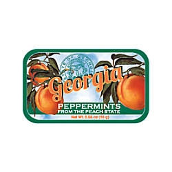 AmuseMints Destination Mint Candy Georgia Peach