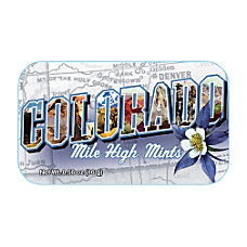 AmuseMints Destination Mint Candy Colorado Mile