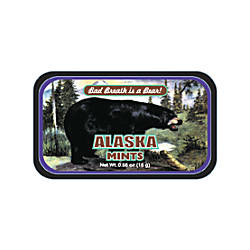 AmuseMints Destination Mint Candy Alaska Black
