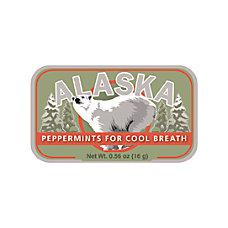 AmuseMints Destination Mint Candy Alaska Polar