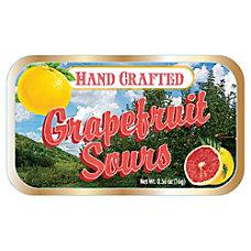 AmuseMints Fruit Sours Grapefruit 056 Oz