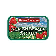 AmuseMints Fruit Sours Strawberry 056 Oz