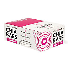 Health Warrior Chia Bars Acai Berry