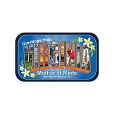 AmuseMints Destination Mint Candy Virginia Letters