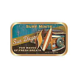 AmuseMints Destination Mint Candy Beach Surf